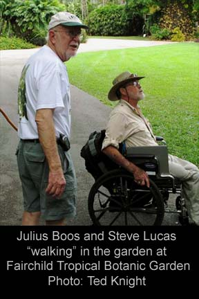 Julius Boos and Steve Lucas, Fairchild Tropical Botanic Garden